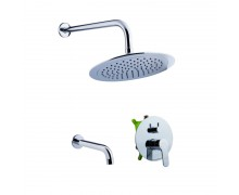 Комплект для ванны/душа POTATO P3310-2 с 2-функциями