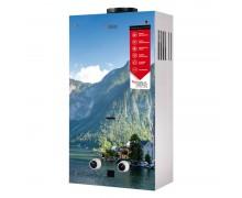 Газовая колонка Aquatronic JSD20-AG208 10 л стекло (горы)