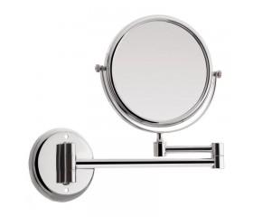 Зеркало настенное косметическое круглое с держателем поворотное 15R Lidz 140.06.06