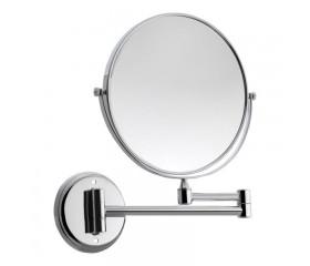 Зеркало настенное косметическое круглое с держателем поворотное 20R Lidz 140.06.08