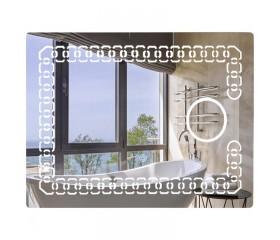 Зеркало настенное прямоугольное LED 700х500 Lidz 140.08.02