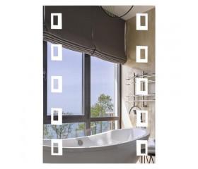 Зеркало настенное прямоугольное LED 500х700 Lidz 140.08.03