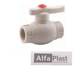 Кран шаровой PPR Alfa Plast 20