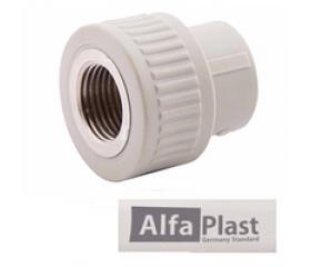 Муфта PPR Alfa Plast 20* 1/2 внутр.