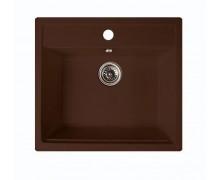 Мойка ARGO Cubo 590х500х200 коричневая