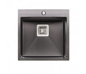 Мойка QT (интегрированная) Black DK5050BL PVD 2.7/1.0 mm