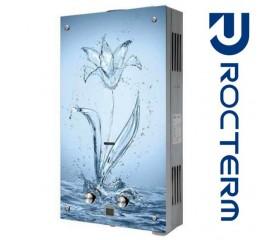 Газовая колонка Rocterm ВПГ-10АЕ 10 л Голубой цветок