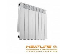 Радиатор биметаллический HEAT LINE M500S/80 190 Ват