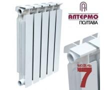 Радиатор биметаллический Алтермо-7 500/96 185 Ват (Украина)