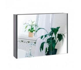 Зеркало Qtap Scorpio зеркальный шкаф подвесной 2 полки 800х600х145 GRAPHITE