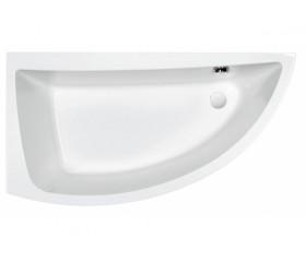 Ванна CERSANIT NANO 140х75 левосторонняя акрил