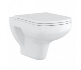 Унитаз Cersanit подвесной COLOUR CLEAN ON без сиденья