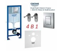 GROHE Rapid SL 38772001 (4 в 1) Инсталляция