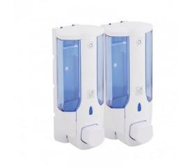 Дозатор для жидкого мыла Lidz (PLA) 120.01.02 760мл двойной